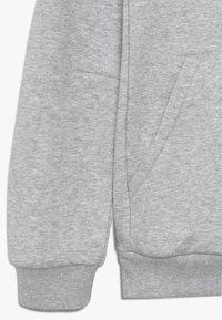 adidas Performance - BOS - Jersey con capucha - medium grey heather/collegiate royal - 2