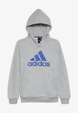 Hoodie - medium grey heather/collegiate royal