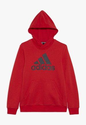 ESSENTIALS SPORTS INSPIRED HOODED - Sweat à capuche - vivred/black
