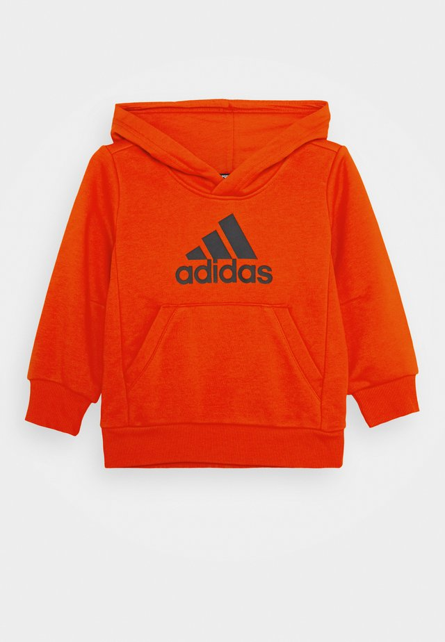 ESSENTIALS SPORTS INSPIRED HOODED - Hoodie - hirere/black