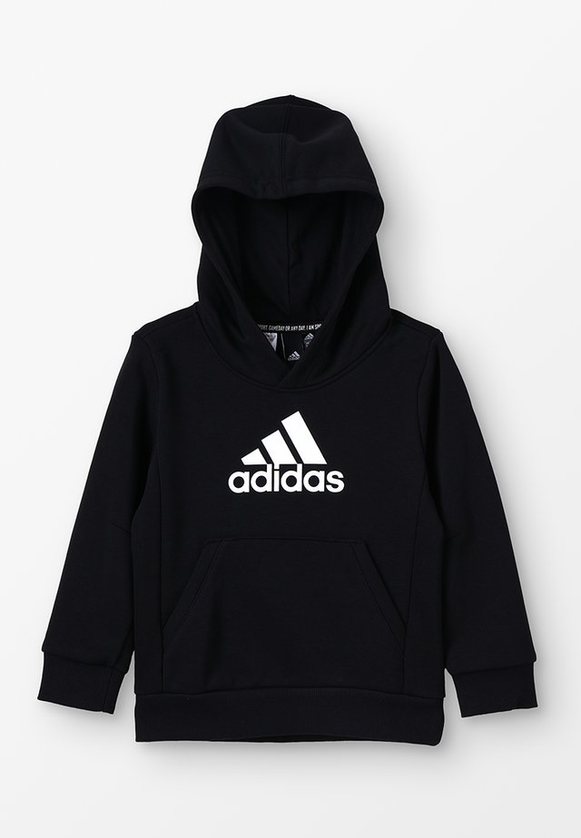 ESSENTIALS SPORTS INSPIRED HOODED - Hoodie - black/white