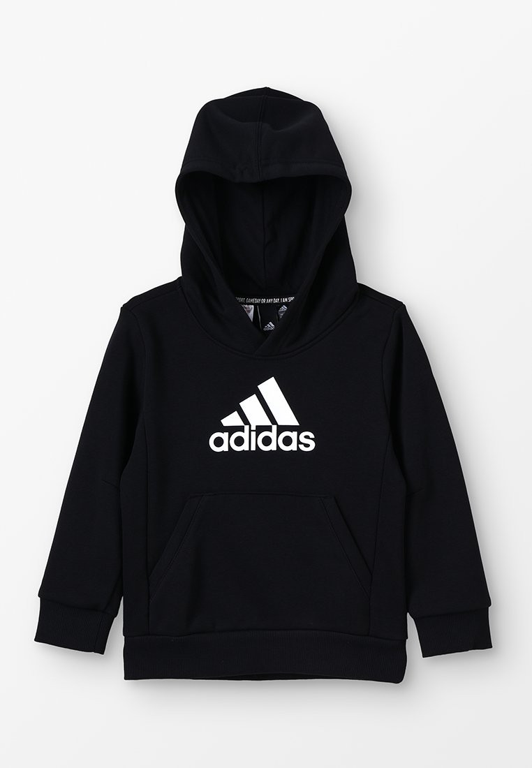 adidas Performance - ESSENTIALS SPORTS INSPIRED HOODED - Hoodie - black/white