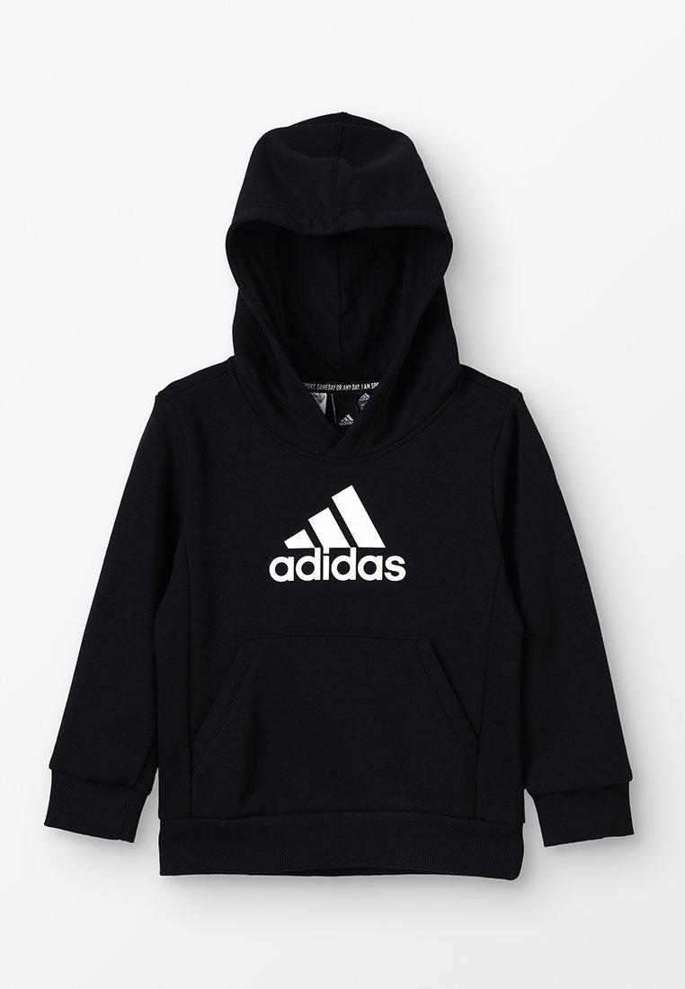 adidas Performance - BOS - Felpa con cappuccio - black/white