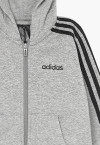 adidas Performance - Sudadera con cremallera - grey/black - 3