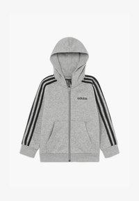 adidas Performance - Sudadera con cremallera - grey/black - 2