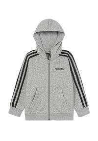 adidas Performance - Sudadera con cremallera - grey/black - 0