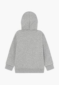 adidas Performance - Sudadera con cremallera - grey/black - 1