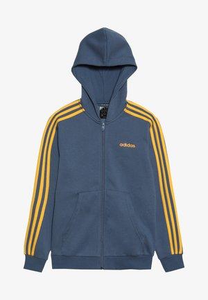 Mikina na zip - blue-grey/yellow