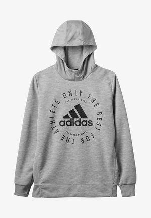 SID - Hoodie - medium grey heather/black