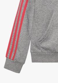 adidas Performance - Hettejakke - medium grey heather/pink - 2