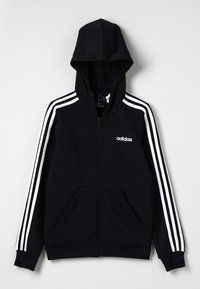 adidas Performance - veste en sweat zippée - black/white - 0
