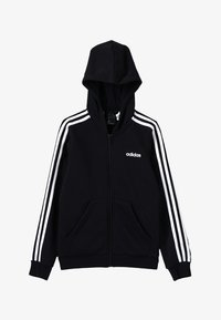 adidas Performance - veste en sweat zippée - black/white - 3
