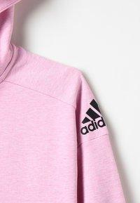 adidas Performance - ID Stadium Hooded Track Jacket - Sweatjakke /Træningstrøjer - true pink/grey six/black - 5