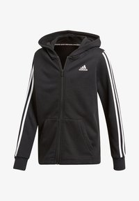 adidas Performance - veste en sweat zippée - black - 0
