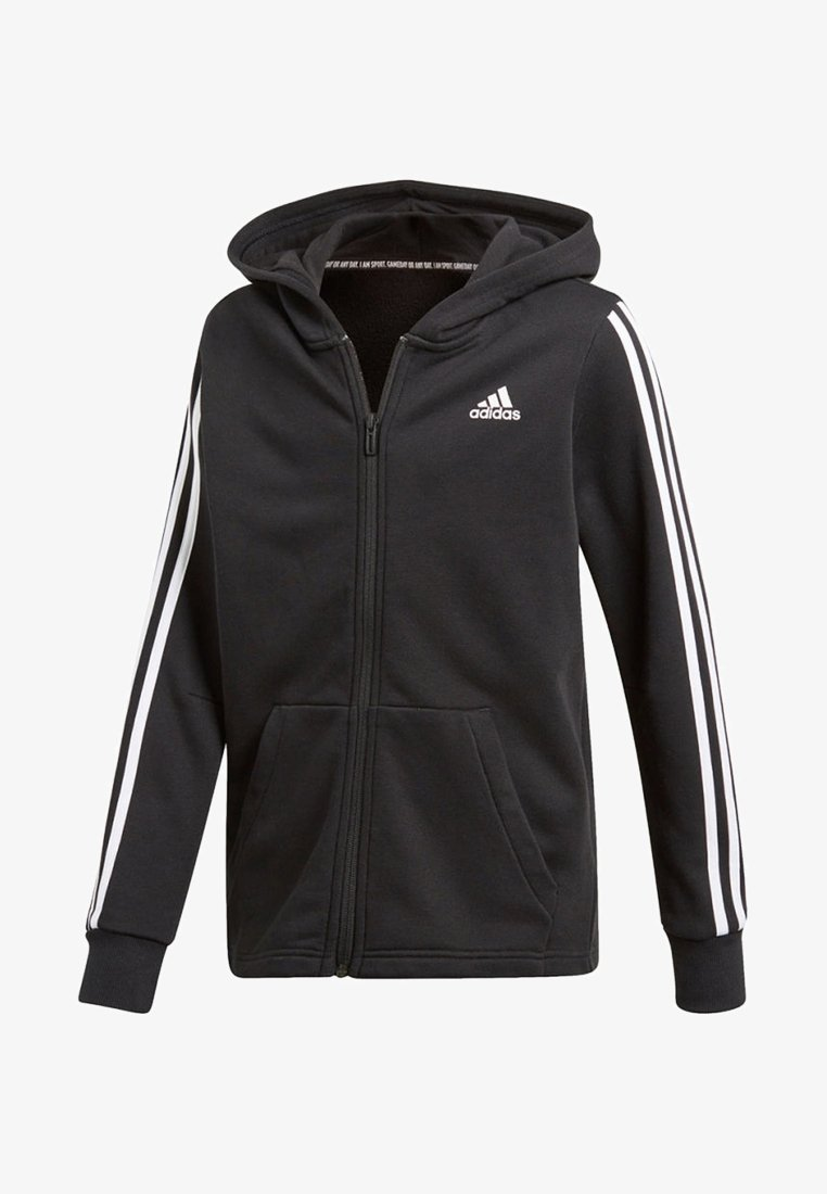adidas Performance - veste en sweat zippée - black