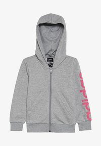 mottled grey/pink