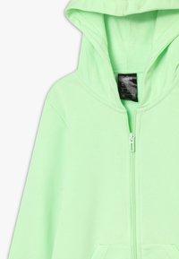 adidas Performance - LIN - Felpa aperta - light green/white - 3