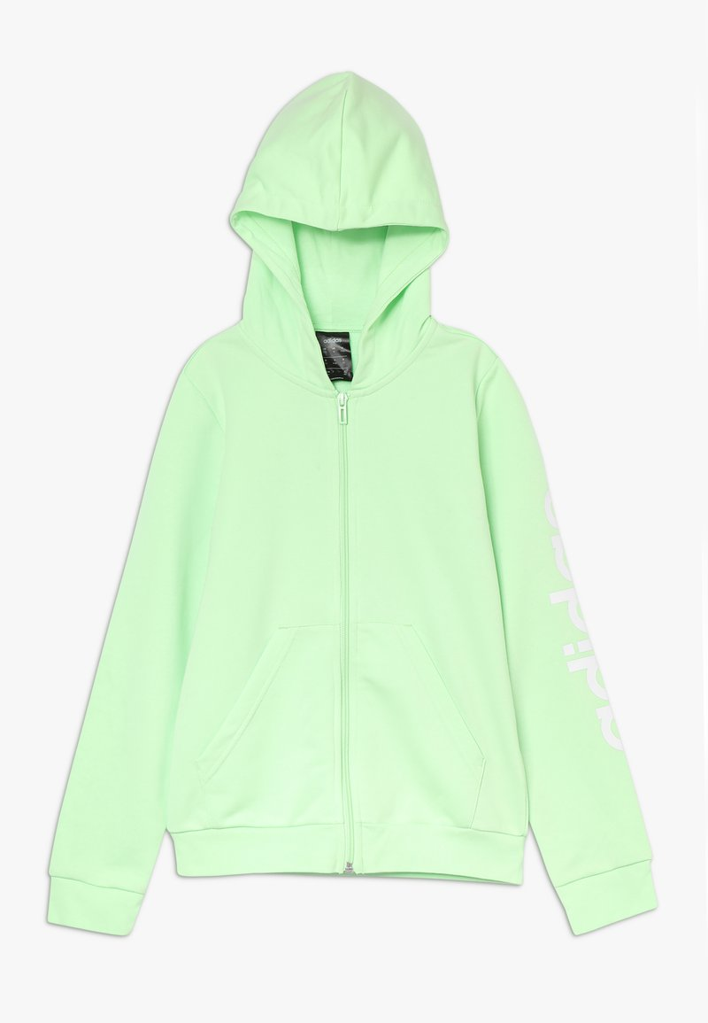adidas Performance - LIN - Hettejakke - light green/white