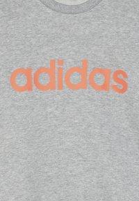 adidas Performance - LIN - Sweatshirt - medium grey heather - 4