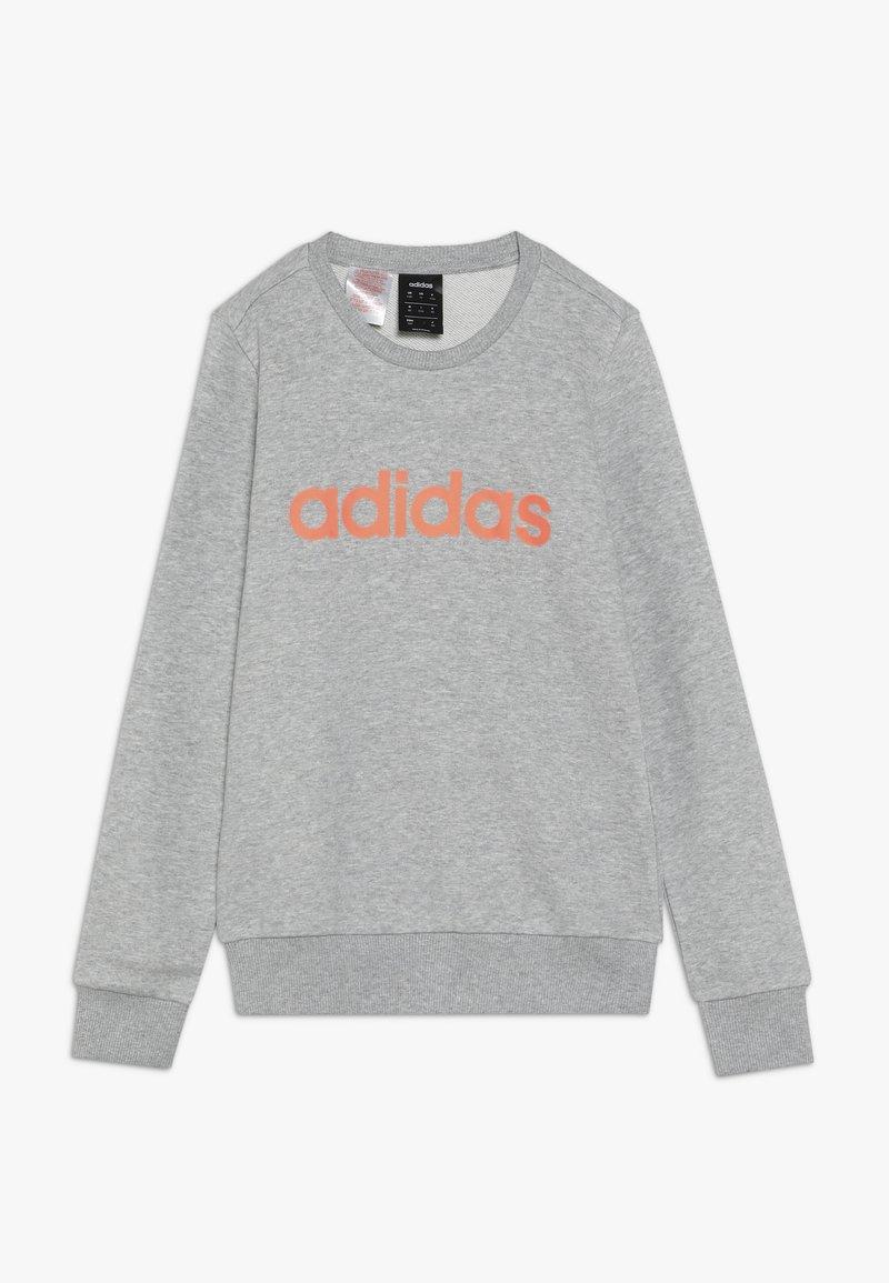 adidas Performance - LIN - Sweatshirt - medium grey heather