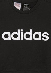 adidas Performance - LIN - Mikina - black/white - 3