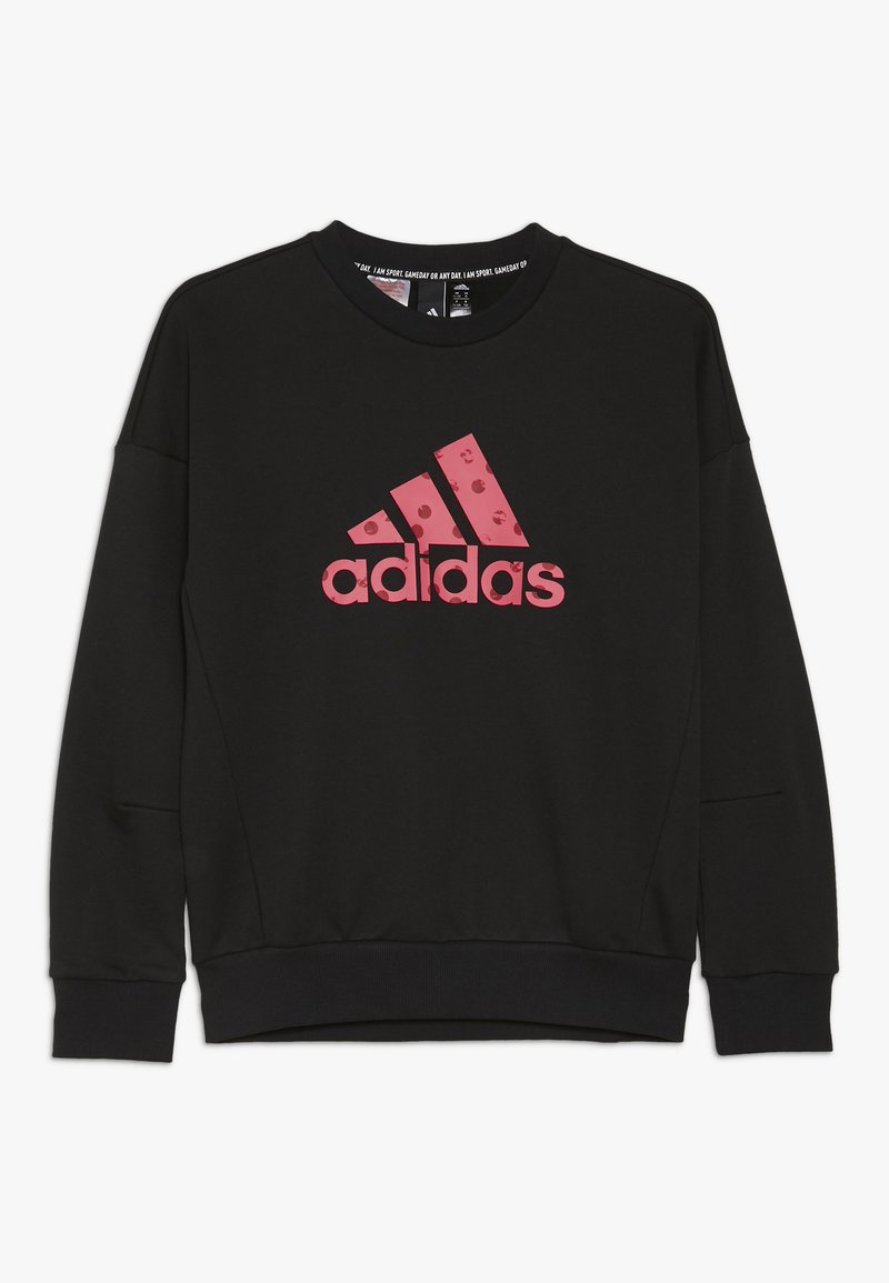 adidas Performance - CREW - Collegepaita - black/pink
