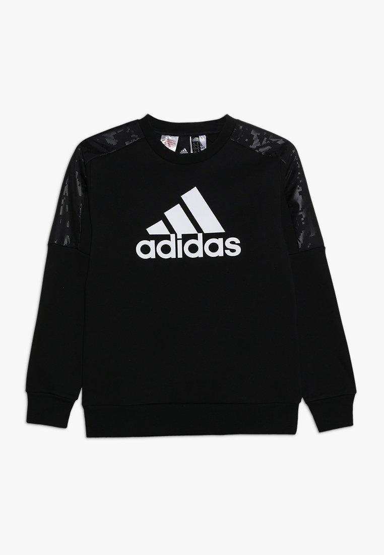 adidas Performance - ID CREW - Sudadera - black/white