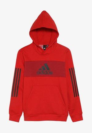 SID - Bluza z kapturem - scarlet/active maroon/black