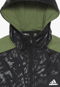 adidas Performance - ID COVER UP - Mikina na zip - olive/black - 4