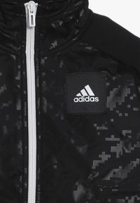 adidas Performance - ID COVER UP - Mikina na zip - black/white - 3