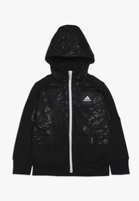 adidas Performance - ID COVER UP - Mikina na zip - black/white - 0