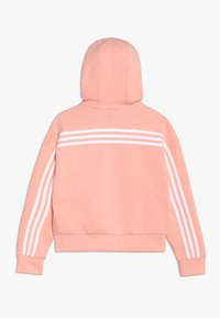 adidas Performance - Zip-up hoodie - glow pink/white - 1