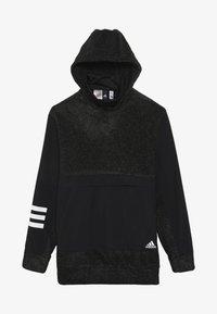 adidas Performance - WARM  - Hoodie - black/white - 3