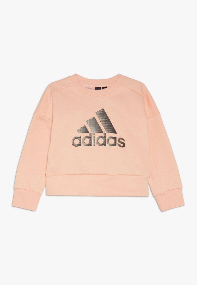 Sweatshirt - glow pink