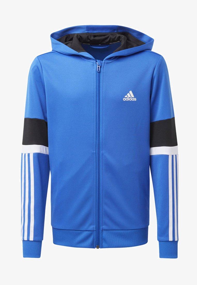 adidas Performance - EQUIPMENT HOODIE - Sweatjacke - blue