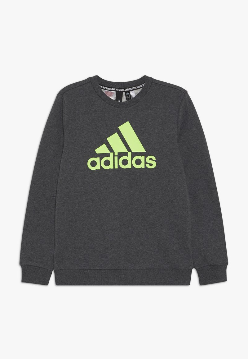 adidas Performance - CREW - Sweatshirt - dark grey/green