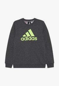 adidas Performance - CREW - Sweatshirt - dark grey/green - 2