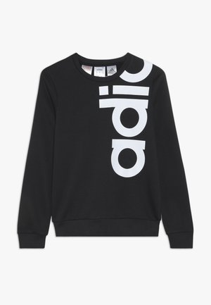 LOGO CREW - Sweater - black/white