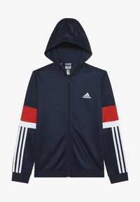 adidas Performance - Chaqueta de entrenamiento - collegiate navy/vivid red/white - 3