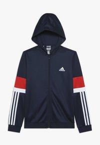 adidas Performance - Sportovní bunda - collegiate navy/vivid red/white - 0