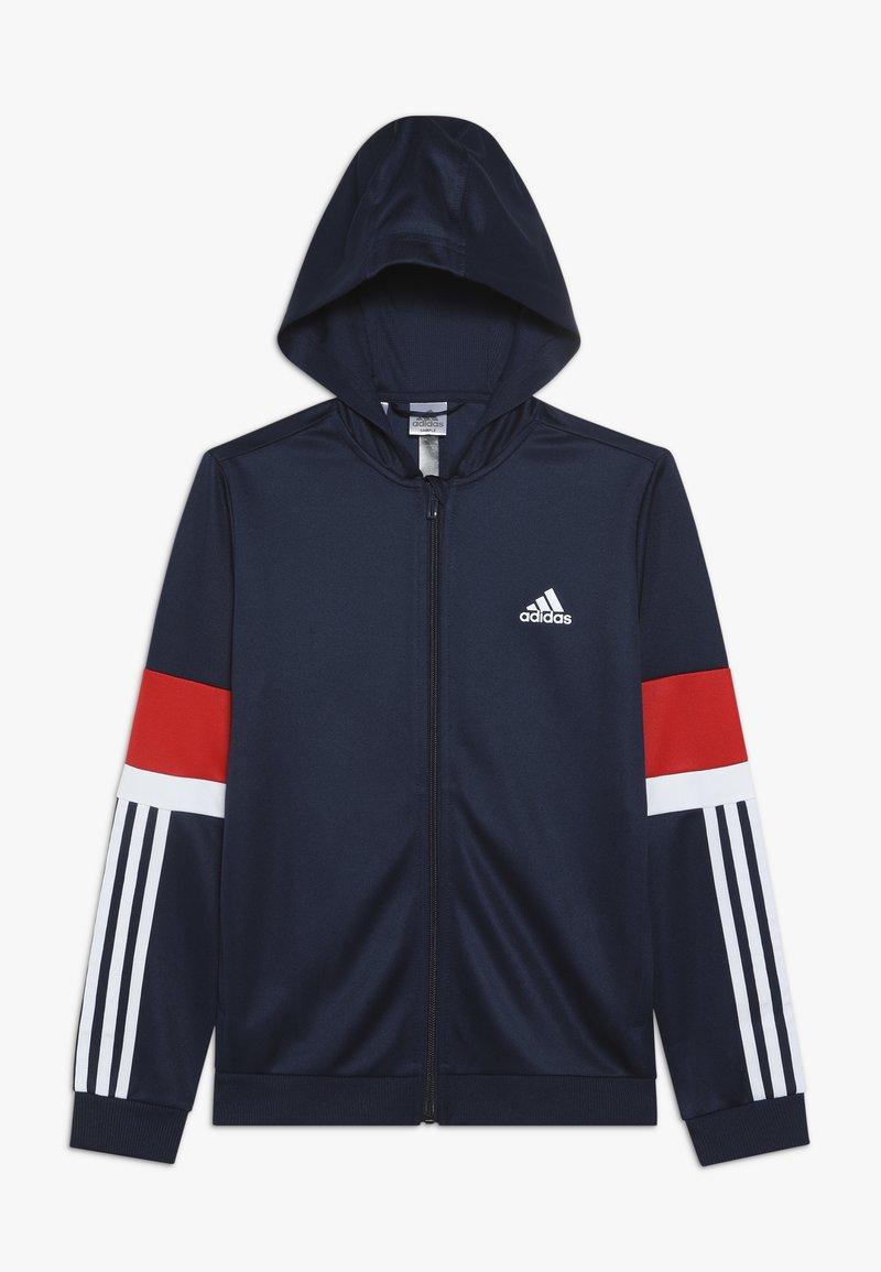 adidas Performance - Sportovní bunda - collegiate navy/vivid red/white