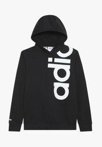 adidas Performance - LOGO - Jersey con capucha - black/white - 0