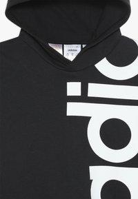 adidas Performance - LOGO - Jersey con capucha - black/white - 4
