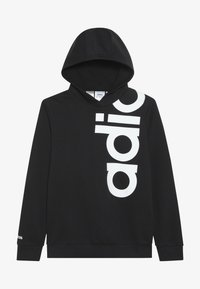 adidas Performance - LOGO - Hoodie - black/white - 3