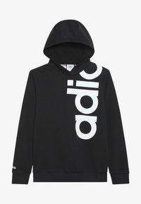 adidas Performance - LOGO - Jersey con capucha - black/white - 3