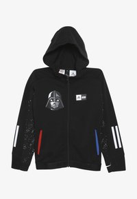adidas Performance - STAR WARS - Mikina na zip - black/white - 3