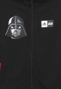 adidas Performance - STAR WARS - Felpa aperta - black/white - 4