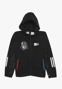 adidas Performance - STAR WARS - Mikina na zip - black/white - 0