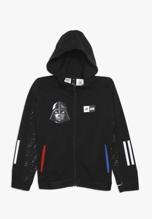 STAR WARS - veste en sweat zippée - black/white