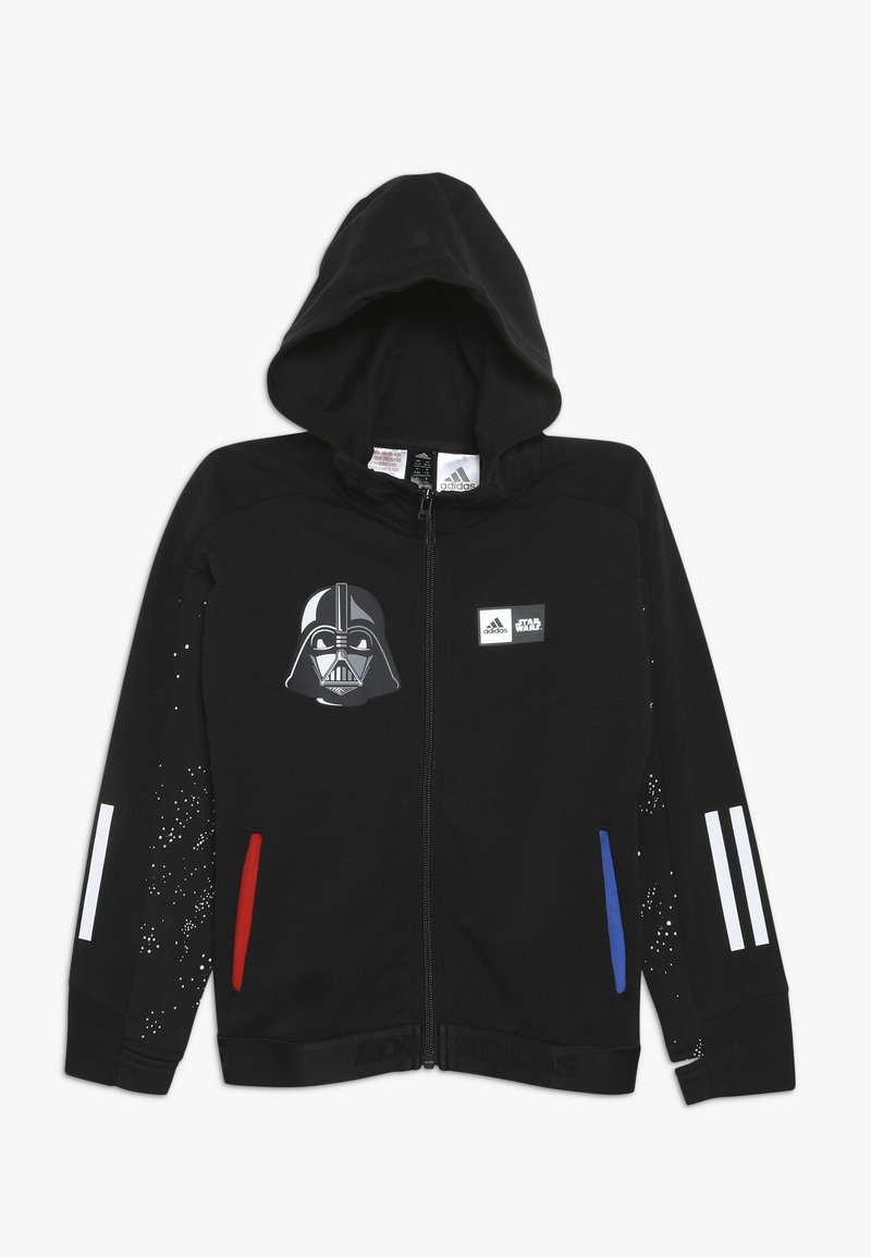 adidas Performance - STAR WARS - Mikina na zip - black/white